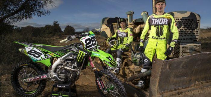 A Monster Energy Kawasaki Racing Team felkészült az új szezonra…