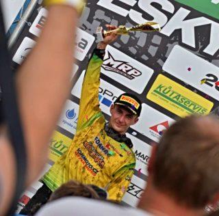Történelmi siker! Szvoboda Bence lett az MX1-es bajnok Csehországban