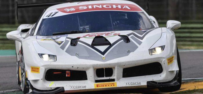A Ferrari Budapest feljebb lépett a bajnoki ranglistán Imolában